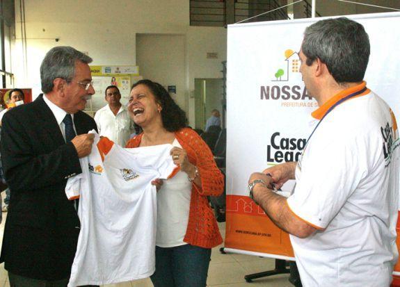 Pannunzio e Godoy participaram do anúncio do novo núcleo - Adival B. Pinto