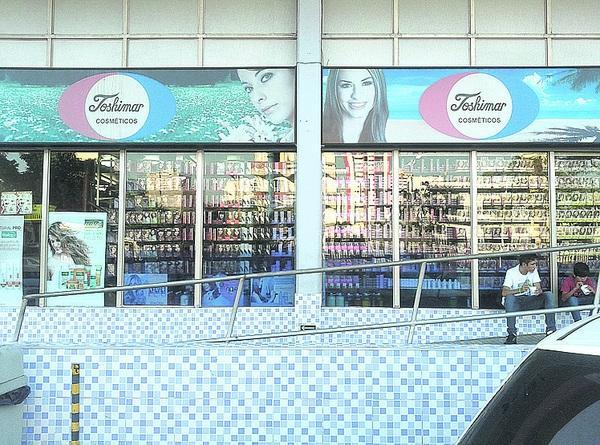 A loja no shopping está aberta desde 1980 - DIVULGAÇÃO
