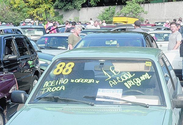 No Feirão há grande oferta de carros populares - Fábio Rogério