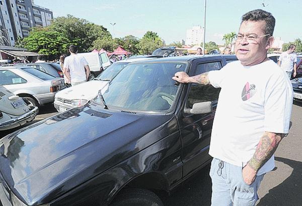 José Carlos de Melo quer vender o Fiat Uno - Fábio Rogério