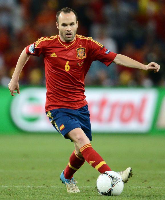 Iniesta é eleito melhor jogador da Eurocopa pela Uefa - 02 07 12 ... 0052ae02fe6d7