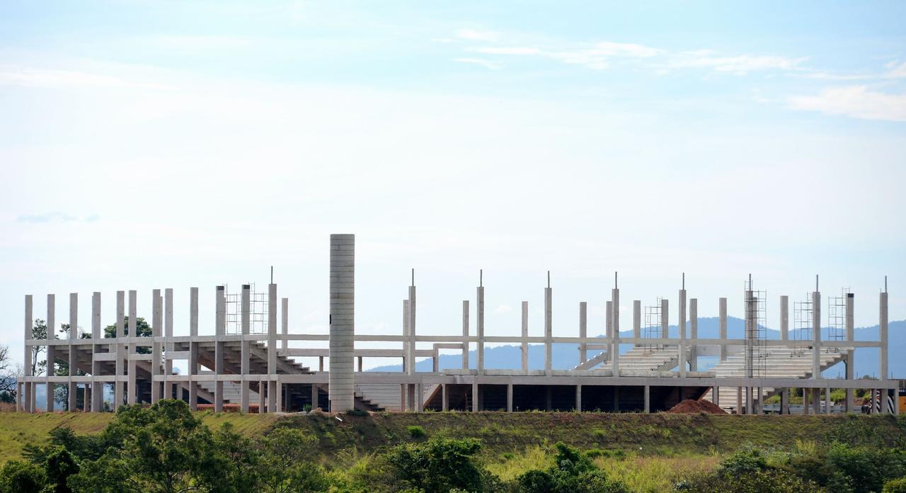 A nova equipe sorocabana irá mandar seus jogos na futura arena multiuso que está sendo construída às margens da rodovia Raposo Tavares - Erick Pinheiro