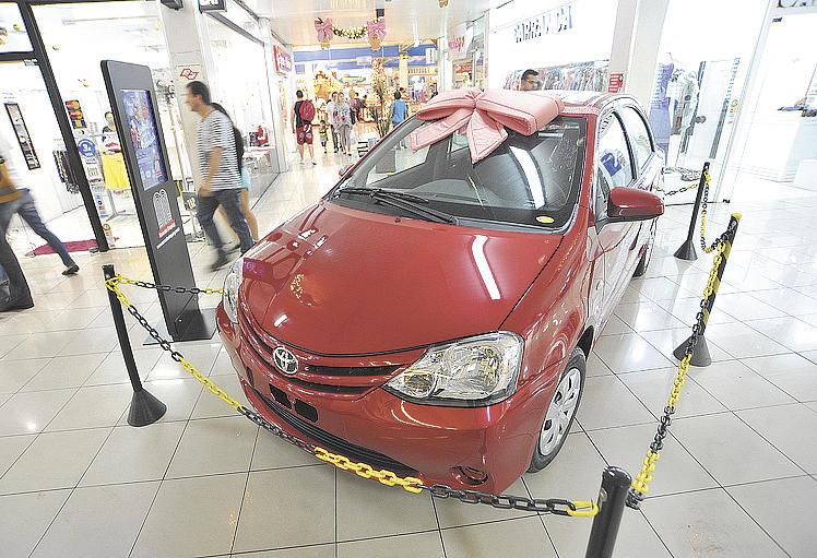 Por sua vez, o Shopping Sorocaba sorteará um Toyota Etios - PEDRO NEGRÃO