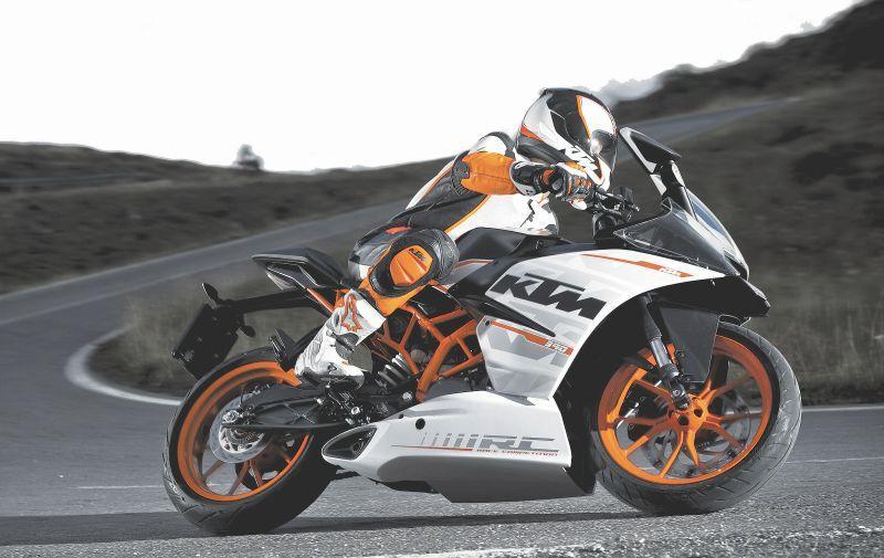 ktm retorna ao brasil com nove motocicletas 26 06 14 motor jornal cruzeiro do sul. Black Bedroom Furniture Sets. Home Design Ideas