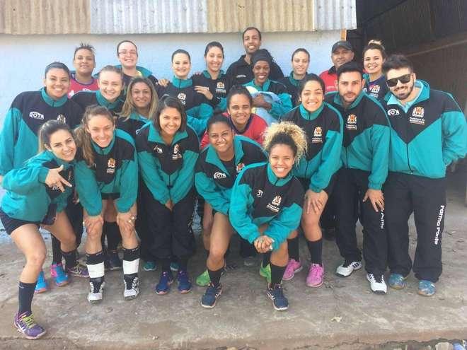95200d1848 Equipe de handebol feminino leva o título nos Jogos Regionais - 29 ...