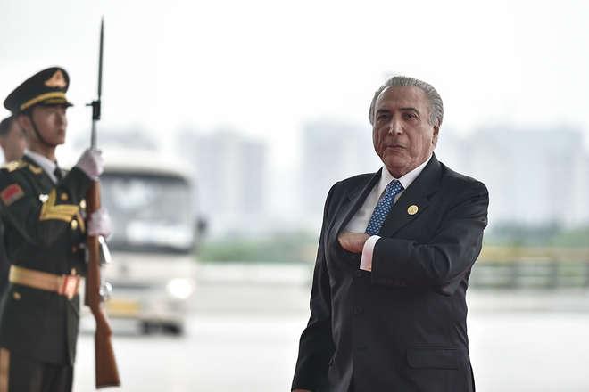 Após reuniões com chefes de Estado na China 22cf56e5da2d