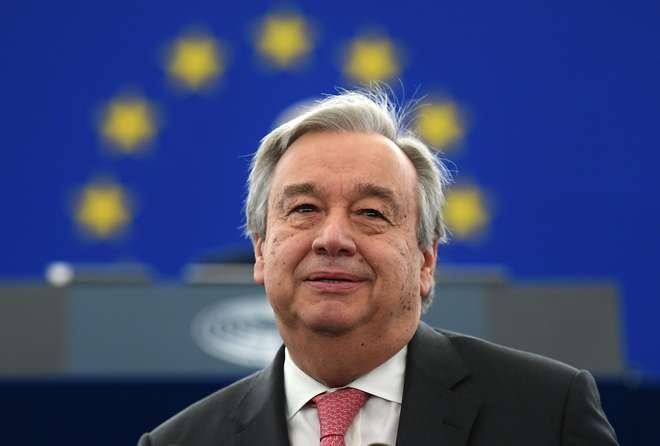 Guterres pede que União Europeia não deixe de se comprometer com refugiados