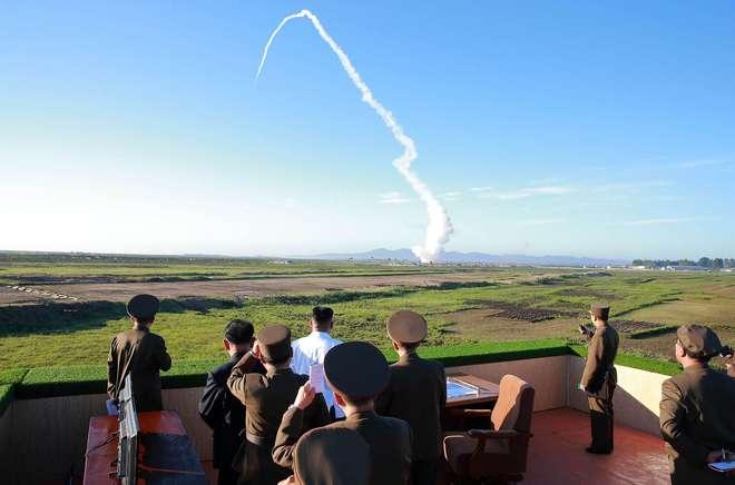 Resultado de imagem para Exército sul-coreano diz que Coreia do Norte fez novo lançamento de míssil