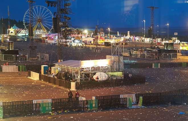 Festival de música evacuado devido a