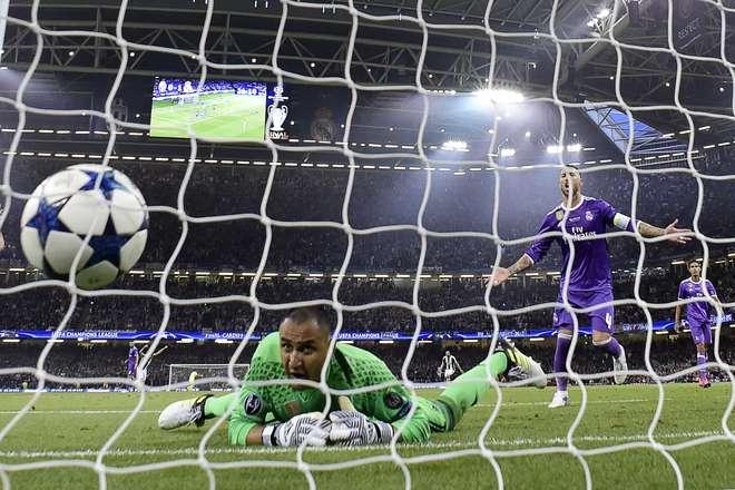 12ª Champions: Real Madrid goleia Juventus com bis de Ronaldo