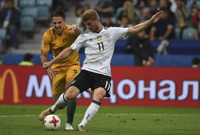 Alemanha vence Austrália e assume liderança do Grupo B — Taça das Confederações