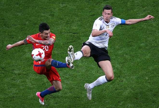 Chile e Alemanha empatam em dia histórico na Rússia