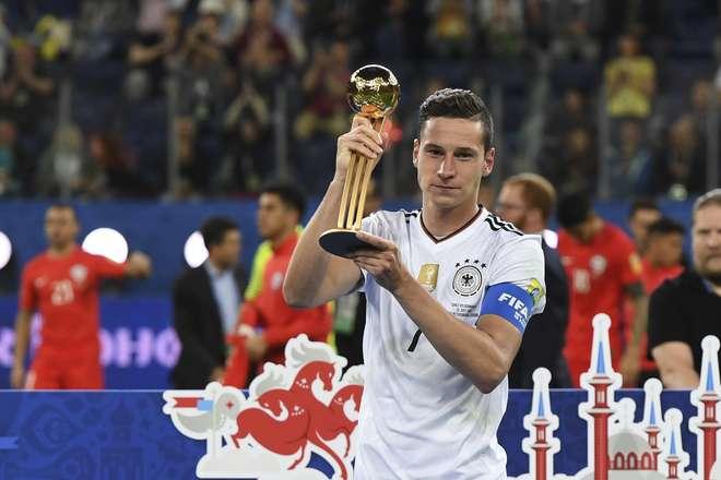 Alemanha vence México e garante um lugar na final — Confederações