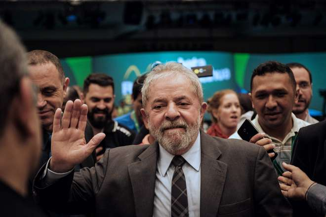 O processo é o segundo da Lava Jato a tramitar contra Lula na Justiça Federal de Curitiba- AFP  ARQUIVO