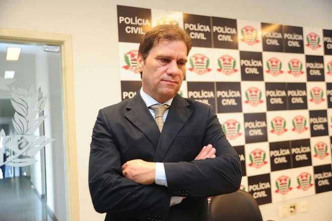 O delegado Marcelo Carriel detalhou a investigação - EMÍDIO MARQUES