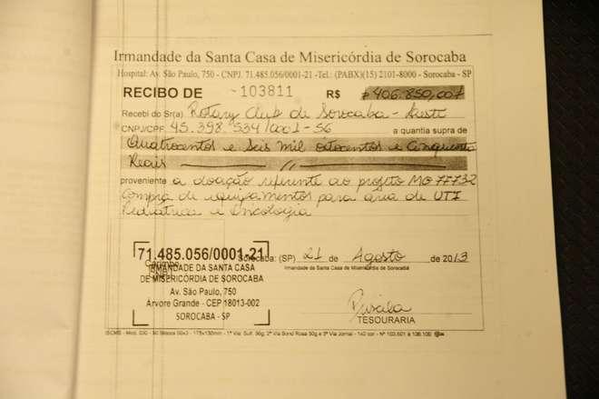 Doação investigada ocorreu em 2013 - REPRODUÇÃO / EMÍDIO MARQUES