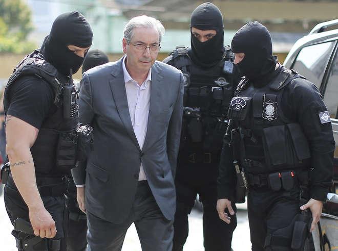 Cunha terá permissão de ficar na Papuda no período entre 18 e 26 de setembro- AFP  ARQUIVO