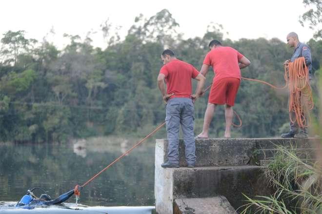 Tragédia ocorreu na represa Votocel, em Votorantim - ERICK PINHEIRO