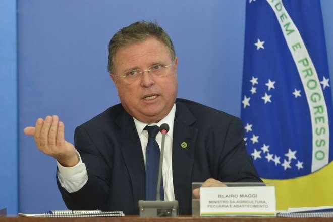 ministro da Agricultura, Blairo Maggi - ANTONIO CRUZ/AGÊNCIA BRASIL