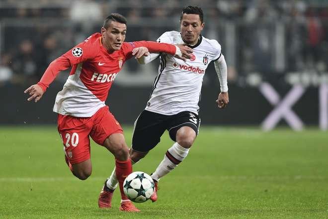 Monaco empata em 1 a 1 com Besiktas pela Liga dos Campeões
