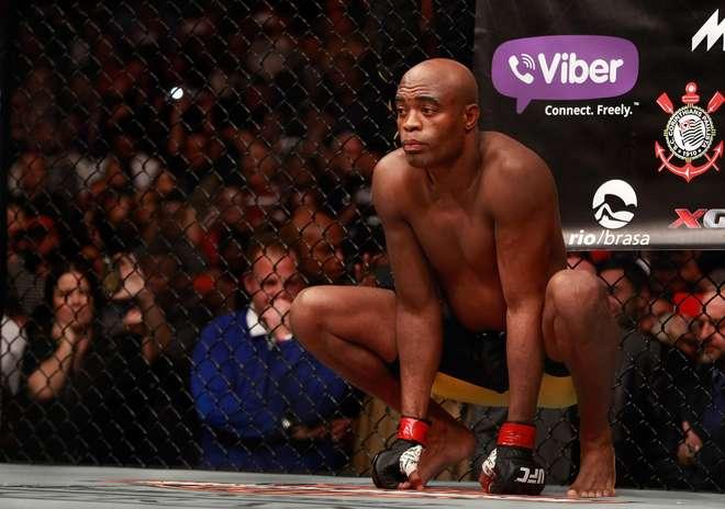 Anderson Silva é flagrado no antidoping e deixa card do UFC Shanghai