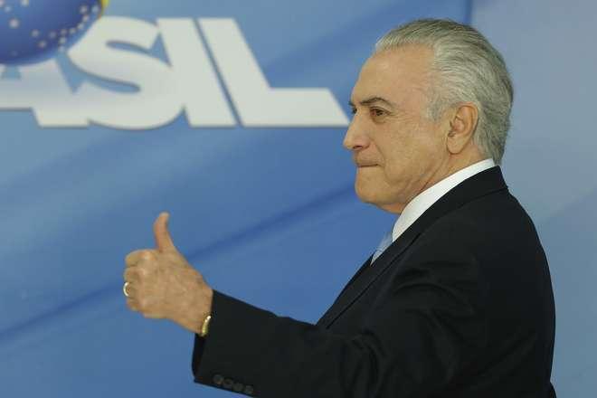 Temer bateu o martelo sobre mudanças na Esplanada dos Ministérios neste final de semana - AFP