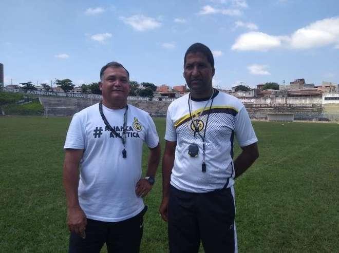 Clytts Jones e José Roberto estarão juntos na Copa SP - DIVULGAÇÃO/ALIANÇA ATLÉTICA