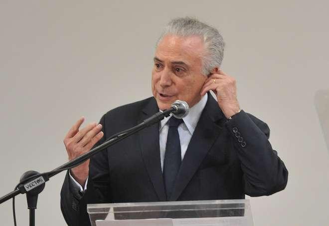 Delação da JBS, envolvendo o presidente Michel Temer, está entre os fatores avaliados pela agência - ERICK PINHEIRO / ARQUIVO JCS (15/11/2017)