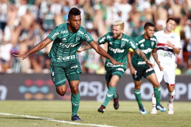 62974bac8e Borja comemora o seu gol contra o Botafogo-SP - THIAGO CALIL   AGIF