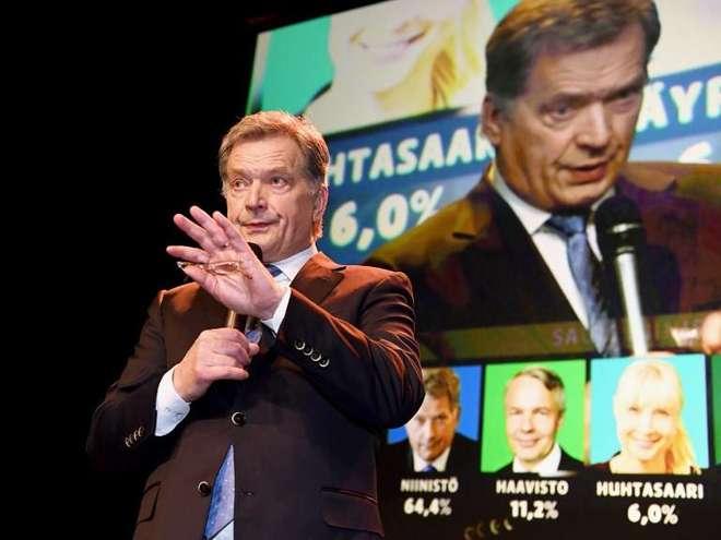 Finlândia: Sauli Niinistö reeleito na primeira volta das eleições presidênciais