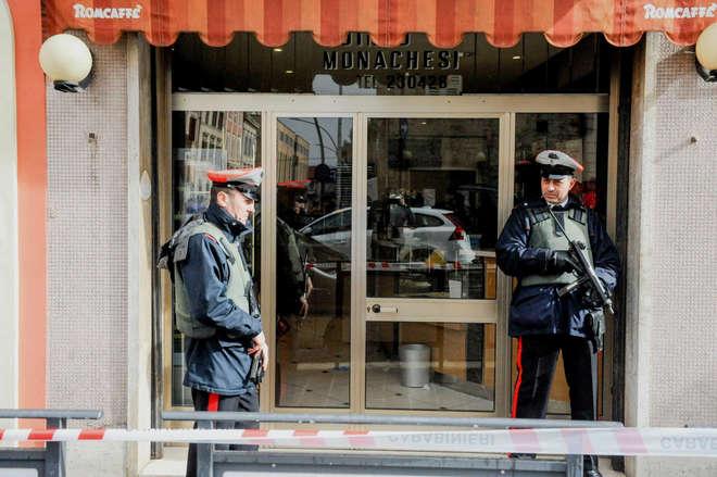 Disparos deixam 6 imigrantes feridos em cidade do centro da Itália
