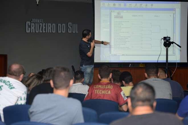 Momento da reunião realizada no auditório da FUA - ERICK PINHEIRO