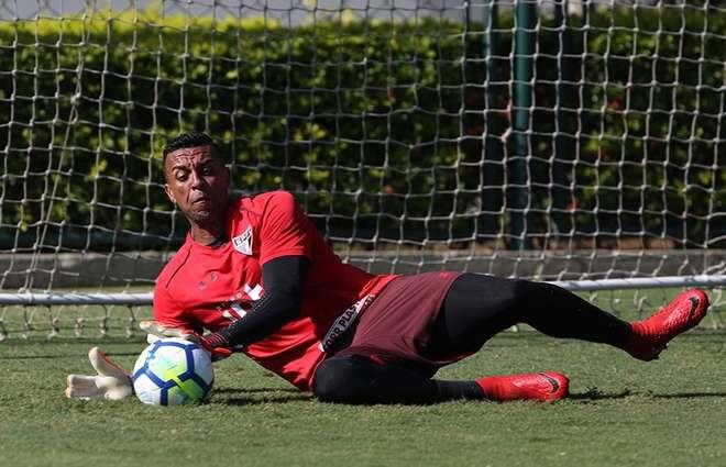 Sidão é desfalque no gol do São Paulo