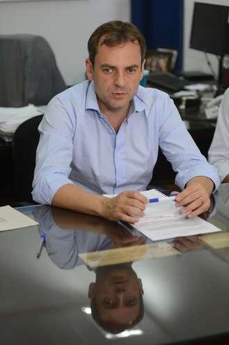 Ronald Pereira, diretor do Saae - ERICK PINHEIRO