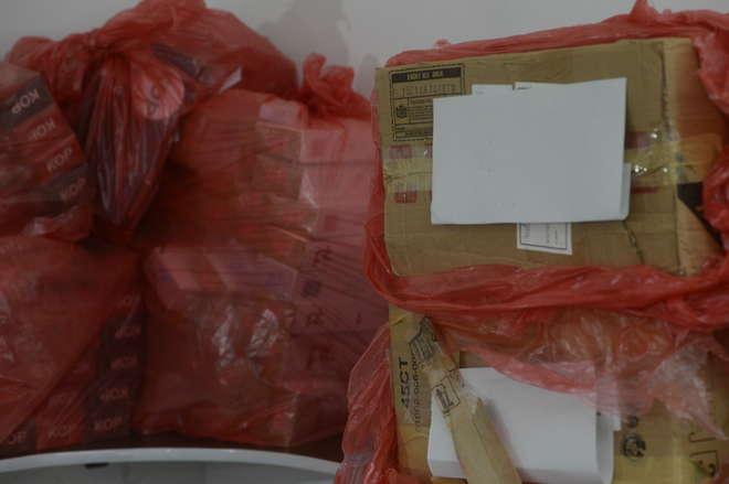 PF faz operação de combate ao contrabando de cigarros