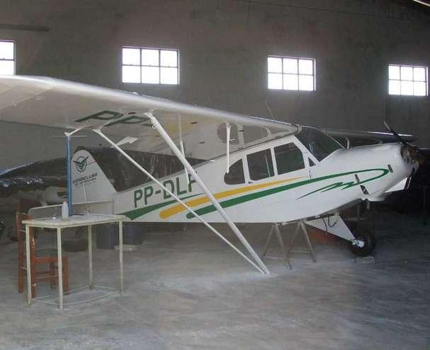 Após acidente, aeronave passou por reparos e voltou a voar sem notificação - DIVULGAÇÃO