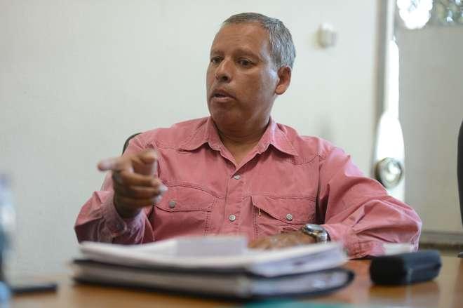Marcos Antônio Ramos está à frente do Aeroclube há 14 anos - ERICK PINHEIRO