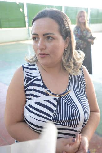 A professora Patrícia - ERICK PINHEIRO