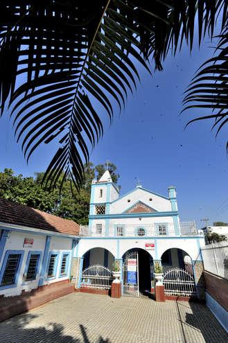 Igreja foi tombada como patrimônio histórico em 1996 - EMIDIO MARQUES
