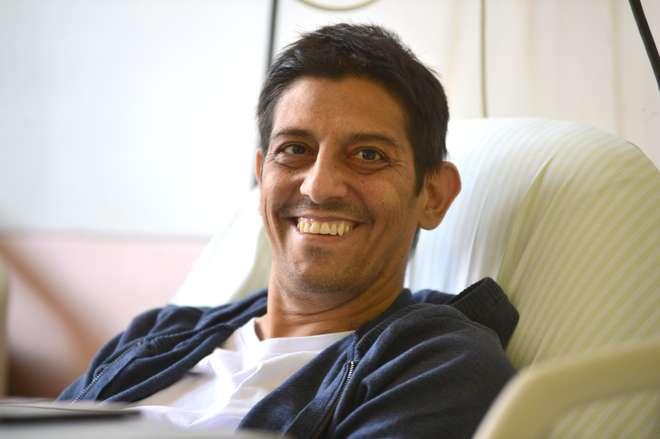 'Com o diagnóstico precoce, pode-se evitar tudo o que passei até aqui', diz Daniel Juarez Alonso -  ERICK PINHEIRO