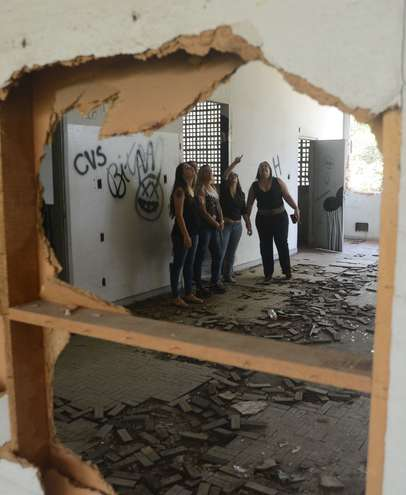 Reforma de um dos prédios é estimada em R$ 700 mil - FÁBIO ROGÉRIO