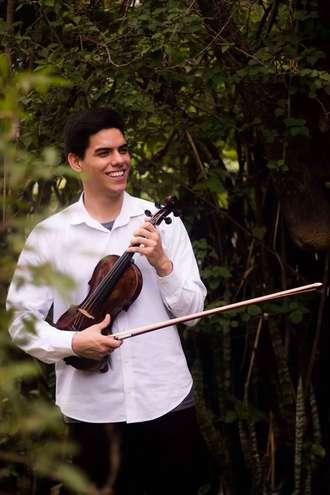 Lucas Alvares iniciou seus estudos aos 9 anos no IMMS - DIVULGAÇÃO