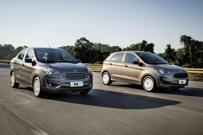 Ford Promove Mudancas Na Linha 2019 Da Familia Ka 26 07 18